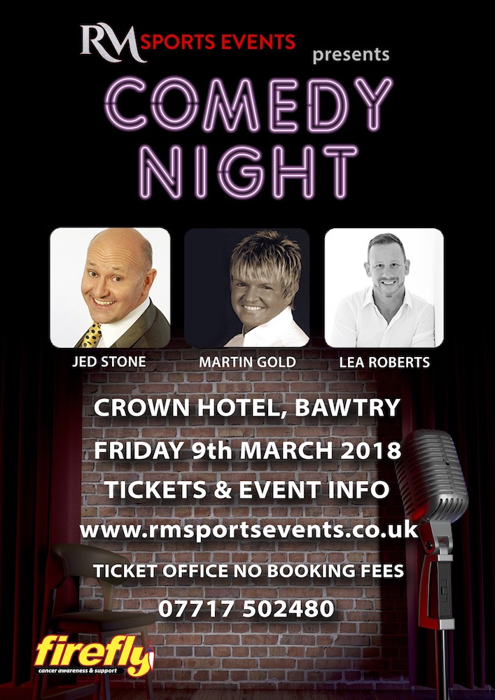 Comedy Night Crown Hotel Bawtry