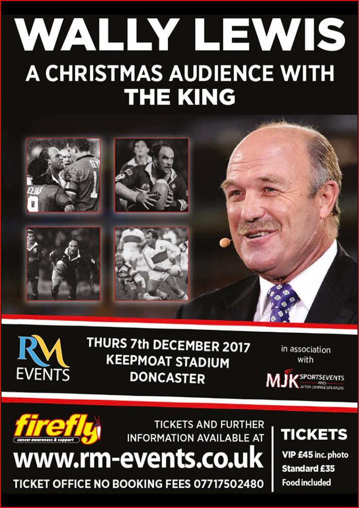 Wally Lewis Doncaster