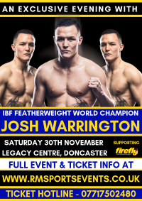 Josh Warrington Doncaster