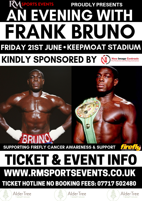 An evening with Frank Bruno