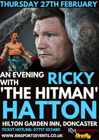 Rickey Hatton Doncaster
